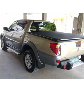 Mitsubishi Soft Roll Up Tonneau Cover 09-14 Truck Bed Covers for MISUBISHI TRITON