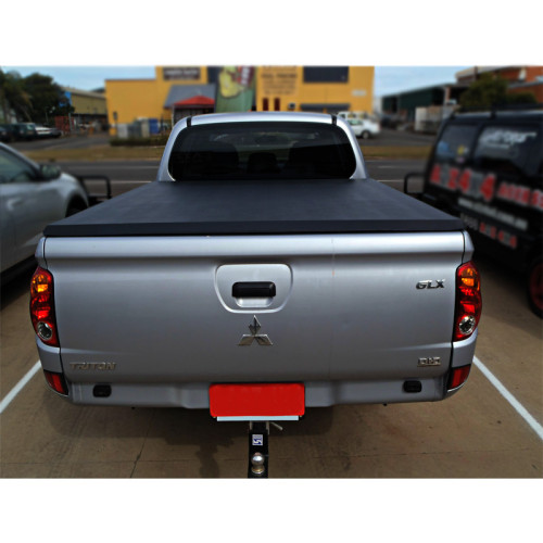 Mitsubishi Soft Roll Up Tonneau Cover 06-08 Pickup Bed Covers For MISUBISHI TRITON