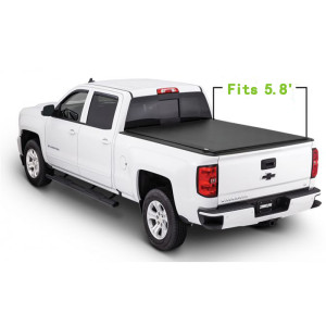 Chevrolet Soft Roll Up Tonneau Cover 04-18 Truck Tonneau Covers for CHEVROLET Silverado/GMC canyon5.8