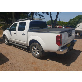 Nissan Soft Roll Up Tonneau Cover 11-13 Truck Tonneau Covers for NISSAN NAVARA D40
