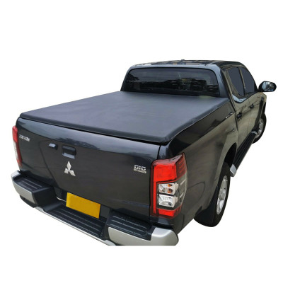 Mitsubishi Soft tir-fold Tonneau Cover 2015+ Pickup Bed Covers For MISUBISHI TRITON