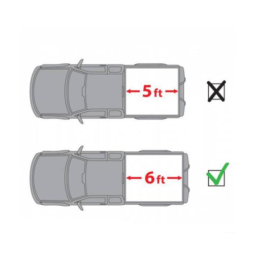 Toyota Tri-Fold Hard Tonneau Cover 2005-2015 TOYOTA Tacoma 6