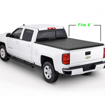 Chevrolet Tri-Fold Soft Tonneau Cover 2004-2014 CHEVROLET Colorado/GMC canyon 6 '