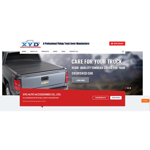 XYD have rebuilt a new website