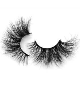 Beauty 25MM 5D Luxury Mink eyelash for making up use-M13