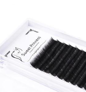false individual mink volume lashes wholesale flare eyelashes extension with eyelash tool