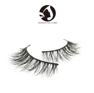 100% real siberian dramatic mink fur mink eyelashes 5d lashes mink eyelashes for makeup