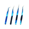 individual mink lashes wholesale high quality eyelash extension tweezers