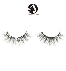 wholesale high quality fashion lovely natural eyelashes siberian mink lashes wholesale