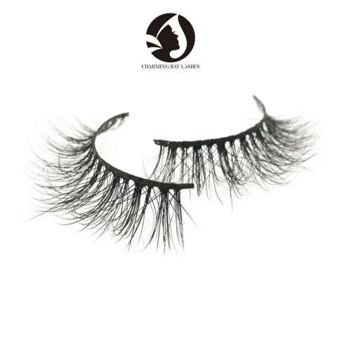 wholesale high quality fashion lovely natural eyelashes siberian mink lashes wholesale
