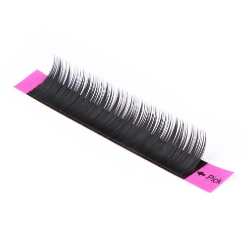 individual false eyelash extension silk private label long dramatic eyelashes
