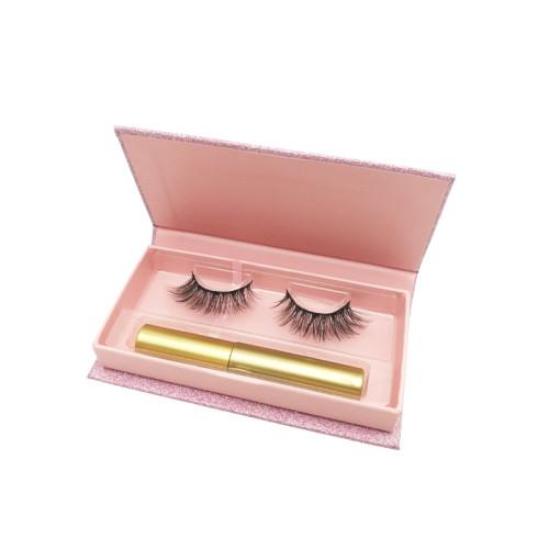 natural magnetic false synthetic eyelashes wholesale faux mink lashes vendors