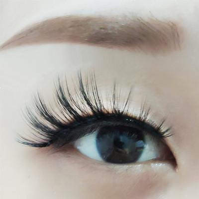 lovely cheap faux mink eyelashes high quality fashion magnetic false eyelashes