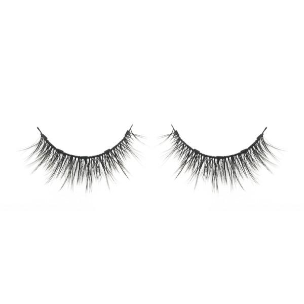wholesale natural wispy eyelashes magnetic false eyelashes with custom eyelash packaging