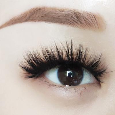 wholesale mink  3d hair lashes vendors wholesale false lovely eyelashes natural