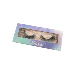 qingdao own brand 3d luxury mink strip eyelashes 4D Lashes