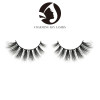 100% real siberian handmade thick 5d mink strip natural long eyelashes wholesale 3d mink lashes