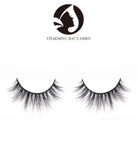 false eyelashes natural private label 100% 5d mink fake wispy wholesale eyelashes