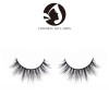 false eyelashes natural private label 100% 5d mink fake wispy wholesale eyelashes