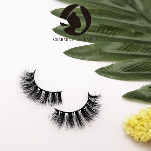 100% real natural 5d siberian mink eyelashes fluffy lashes wholesale private label