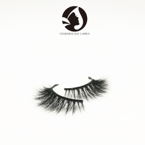 4D natural mink eyelash own brand wholesale eyelashes 3d mink Lashes
