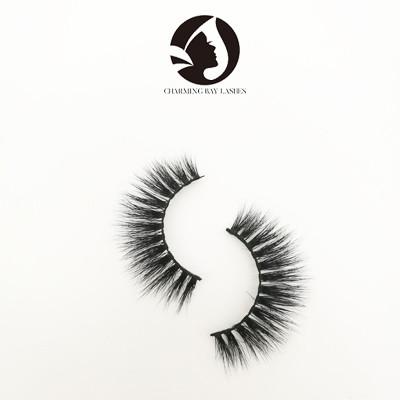 100% mink 3d luxury fake eyelashes private label wholesale mink lashes