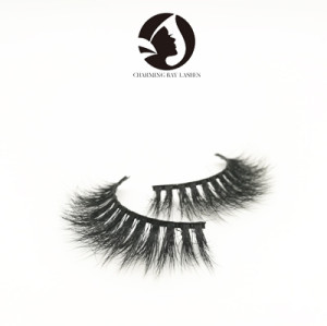 100% mink 3d luxury fake eyelashes private label wholesale mink lashes