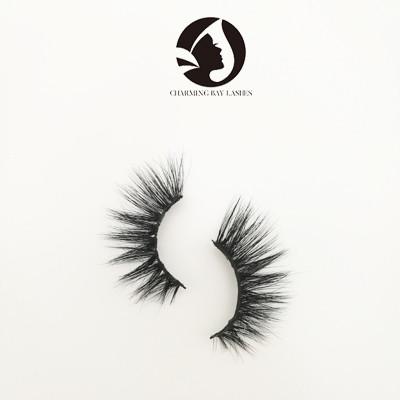 5D mink natural eyelashes high quality fashion strip eyelashes 3d private label