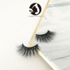 5D mink natural eyelashes high quality fashion strip eyelashes 3d private label