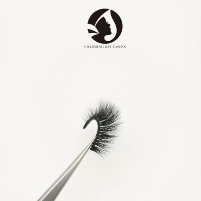 5d full hand make eyelashes custom logo packing design box private label 5d false eyelash
