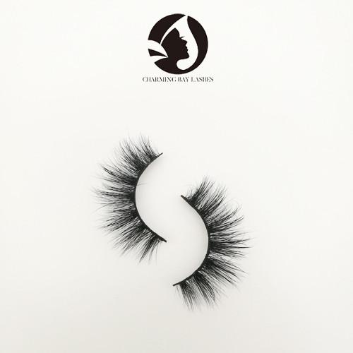 3d mink lashes wholesale natural long strip false eyelashes with eyelash tweezers