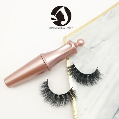 magnetic false custom 100% 5d mink fur false eyelashes private label packaging