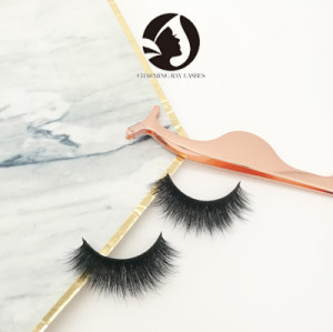 lovely best false natural fluffy mink long eyelashes 3d mink lashes private label