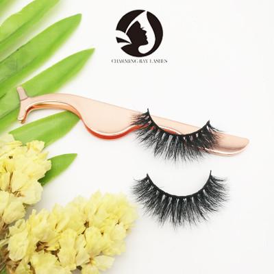 natural eyelashes false eyelashes private label mink 3d lashes for wholesale