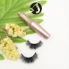 natural eyelashes false eyelashes private label mink 3d lashes for wholesale