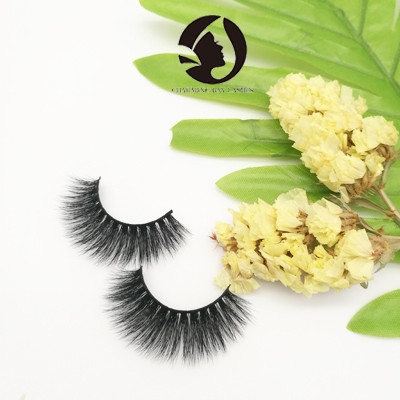 mink wholesale thick eyelashes private label high quality fashion eyelashes