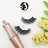 custom eyelash packaging 100% handmade 5d real mink long magnetic false eyelashes for makeup