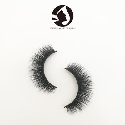 luxury 3d fake natural eyelashes private label 5D mink eyelashes