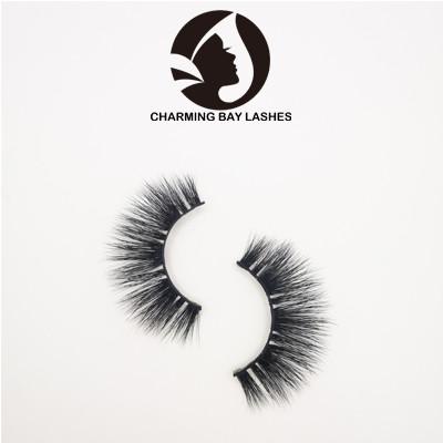 wholesale natural mink fake eyelashes private labe lhigh quality eyelashes