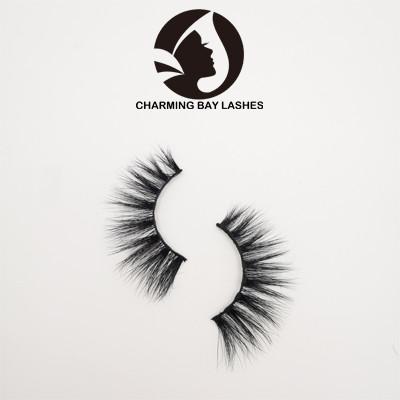 3d mink fake long eyelashes false eyelashes for wholesale with custom eyelash packaging