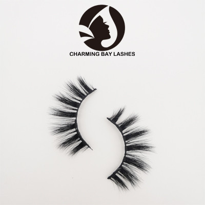 3d mink lashes wholesale private label strip natural long eyelashes with eyelash glue