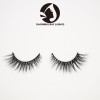 create your own brand creme eyelashes wholesale 100% 3d real siberian mink fur eyelashes