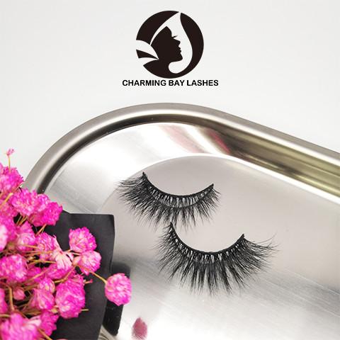 create your own brand creme eyelashes wholesale 100% 3d real siberian mink fur eyelashes