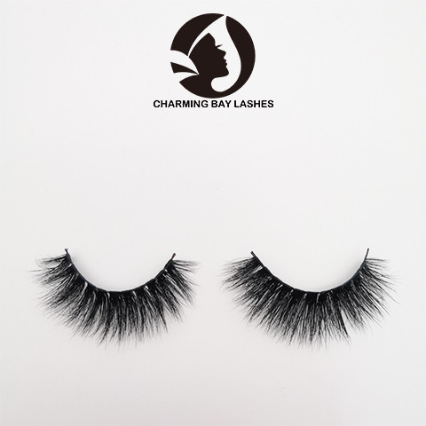 3 pairs 3d natural mink false eyelashes boxes private label
