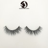 3 pair 100% siberian mink fur 25mm false 3d eyelashes mink