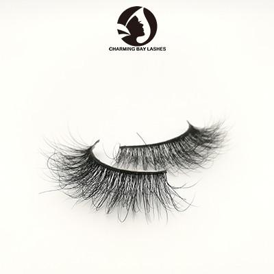 3d individual luxury mink big eyelashes boxes