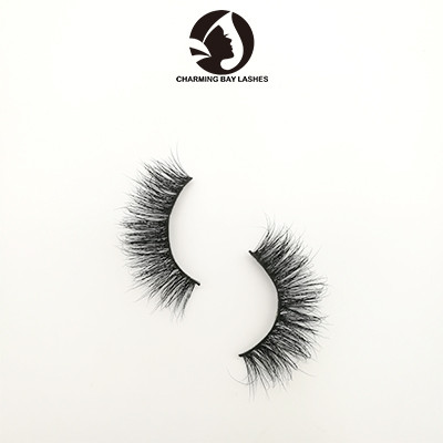 cheap 3d mink charming eyelashes oem lovely mink private label