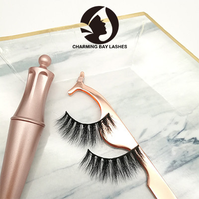 fake high quality cruelty free 3d eyelashes handmade mink eyelashes natural