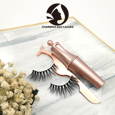 false eyelashes 3d mink natural wholesale private label