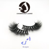 wholesale lashes makeup 5D mink private label eyelashes 3d with  packaging